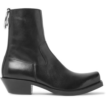 Vetements - Leather Boots