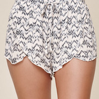 Me To We Geo Print Tulip Shorts at PacSun.com