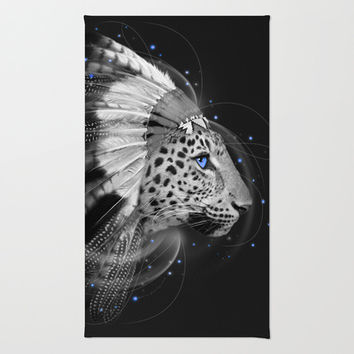 Don't Define Your World (Chief of Dreams: Amur Leopard) Area & Throw Rug by soaring anchor designs ⚓ | Society6