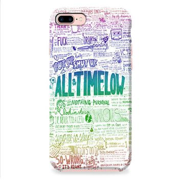 All Time Low Art Quotes iPhone 8 | iPhone 8 Plus Case