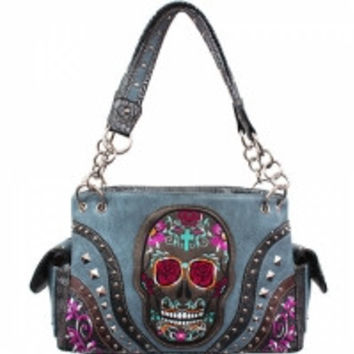 Sugar Skull Calacus Shoulder Bag
