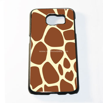 Giraffe Pattern Samsung Galaxy S6 and S6 Edge Case