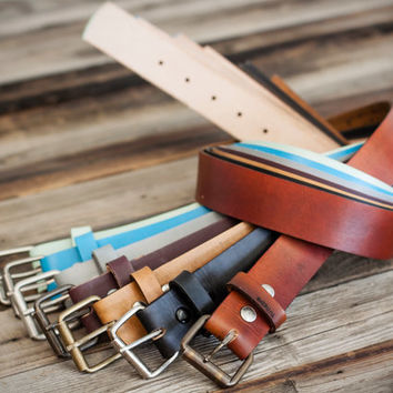 fullgrain leather belt