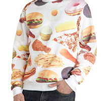 ModCloth Quirky Long Sleeve Sweatshirt Danb