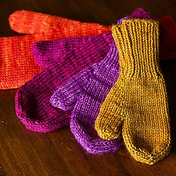 The World's Simplest Mittens DK Kit