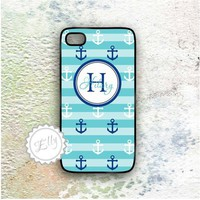 Iphone 4 4S Blue Anchors Case Custo.. on Luulla