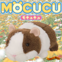 Strapya World : Mocucu Cute Mouth Movable Plush Doll Gadget (Guniea Pigs)