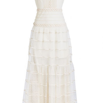 Embroidered Lace Maxi Dress - RED Valentino | WOMEN | KR STYLEBOP.COM