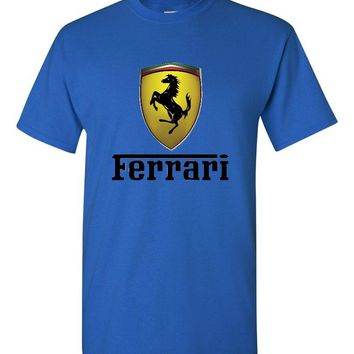 Ferrari Royal Blue T-Shirt