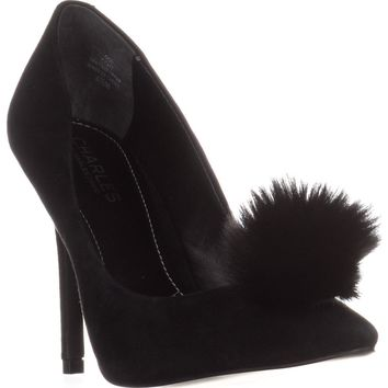 Charles by Charles David Pixie Classic Pump Heels, Black, 5 US