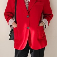 Pretty Is That All Basic Jacket (Red)