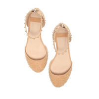 STUDDED SANDALS WITH ANKLE STRAP - Shoes - Girl - Kids | ZARA United States