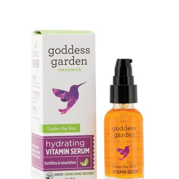 Goddess Garden Organics Face the Day Daily Mineral SPF 30 Moisturizer & Firming Primer for Sensitive Skin (1 oz. Bottle) Reef Safe, Organic, Vegan, Leaping Bunny Certified Cruelty-Free, B Corp