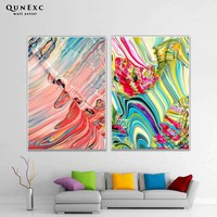 Modern abstract oil painting Wall Art Canvas Poster and Print Canvas Painting Decorative Picture for Living Room Home Decor