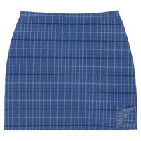 Internet Girl Meta Tweed Skirt - Blue