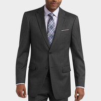 Tommy Hilfiger - Tailored Fit Suit, Charcoal Multistripe