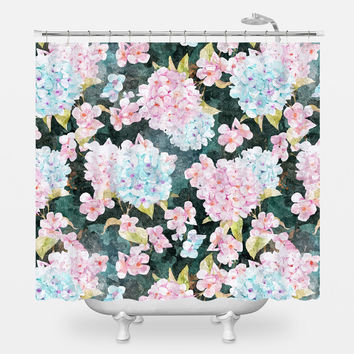 Blossom v2 Shower Curtain