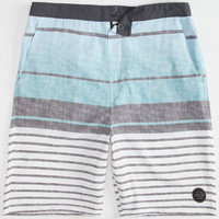 Valor Array Mens Hybrid Shorts - Boardshorts And Walkshorts In One Blue  In Sizes