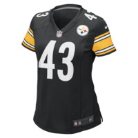 b211e999d Nike NFL Pittsburgh Steelers (Troy Polamalu) Women s Football Home Game  Jersey