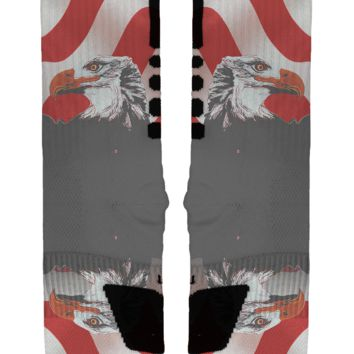 Bald Eagle Custom Nike Elites
