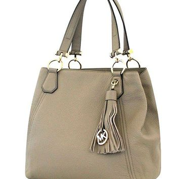 Michael Michael Kors Frances Large Leather Grab Bag
