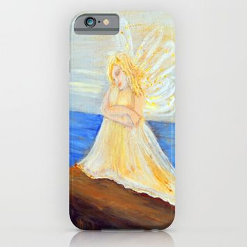 Invite your Angel | Angels are here iPhone & iPod Case by Azima