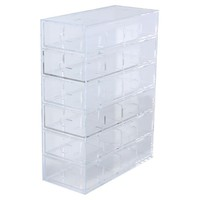 [Acrylic Storage]6 Drawers A4 W4.3