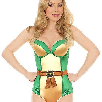 Teenage Mutant Ninja Turtles Womens Leotard - Spirithalloween.com