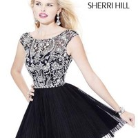 Prom Dresses 2014 - Sherri Hill 2814 Short Celebrity Gown