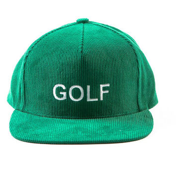 GOLF SNAPBACK KELLY GREEN – Odd Future