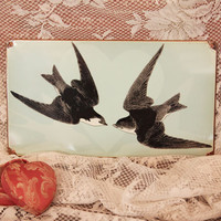 lovebirds vintage metal sign - $31.99 : ShopRuche.com, Vintage Inspired Clothing, Affordable Clothes, Eco friendly Fashion