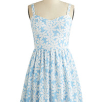Clear as Daisies Dress