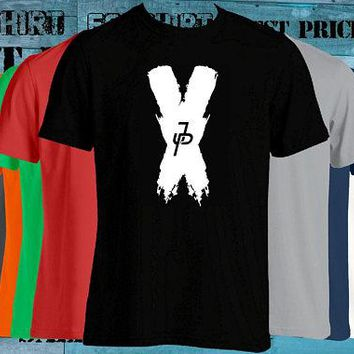 Jake Paul Fanjoy JP T-shirt we can make the X any color just ask best price fast shipping