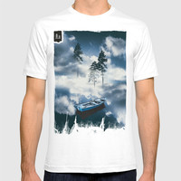Forest sailing T-shirt by happymelvin