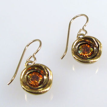 Patricia Locke Jewelry - Shelly Earrings in Copper