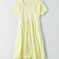 Don't Ask Why T-Shirt Dress, Yellow