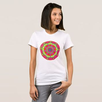 In the Butterfly Garden Mandala T-Shirt