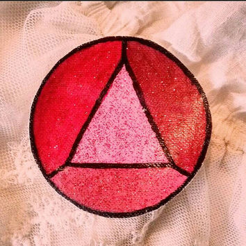 Steven Universe: Small Garnet (Triangle) Gem Patch