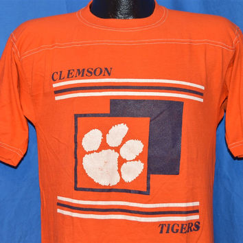 70s Clemson University Tigers Jersey t-shirt Small