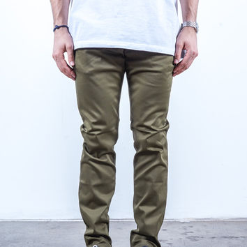 Olive | Chino Slim Fit