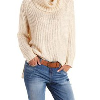 Chunky Cowl Neck Sweater by Charlotte Russe
