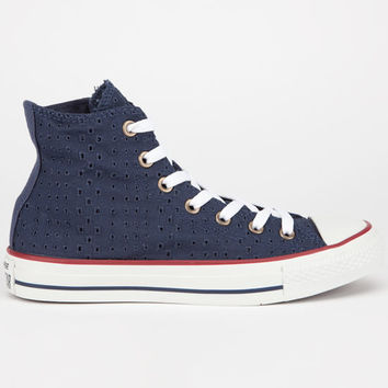 Converse Chuck Taylor Hi Womens Shoes Navy  In Sizes