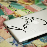 Decal for Macbook Pro, Air or Ipad Stickers Macbook Decals Apple Decal for Macbook Pro / Macbook Air