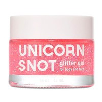 Unicorn Snot Pink Glitter Gel - For Face, Body & Hair