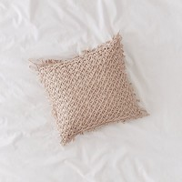 Lattice Throw Pillow | Urban Outfitters