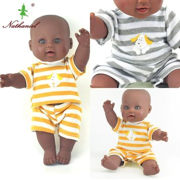 AFRICAN SILICONE REBORN BABY DOLL