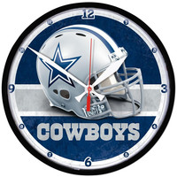 Dallas Cowboys NFL Round Wall Clock