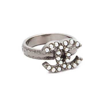 Chanel CC Ring (Previously Owned)