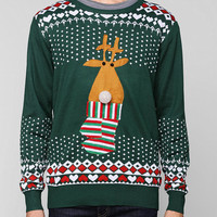 Light Up Reindeer Sweater  - Urban Outfitters