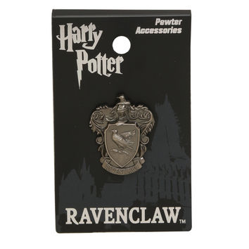 Harry Potter Ravenclaw Crest Pewter Charm Pin